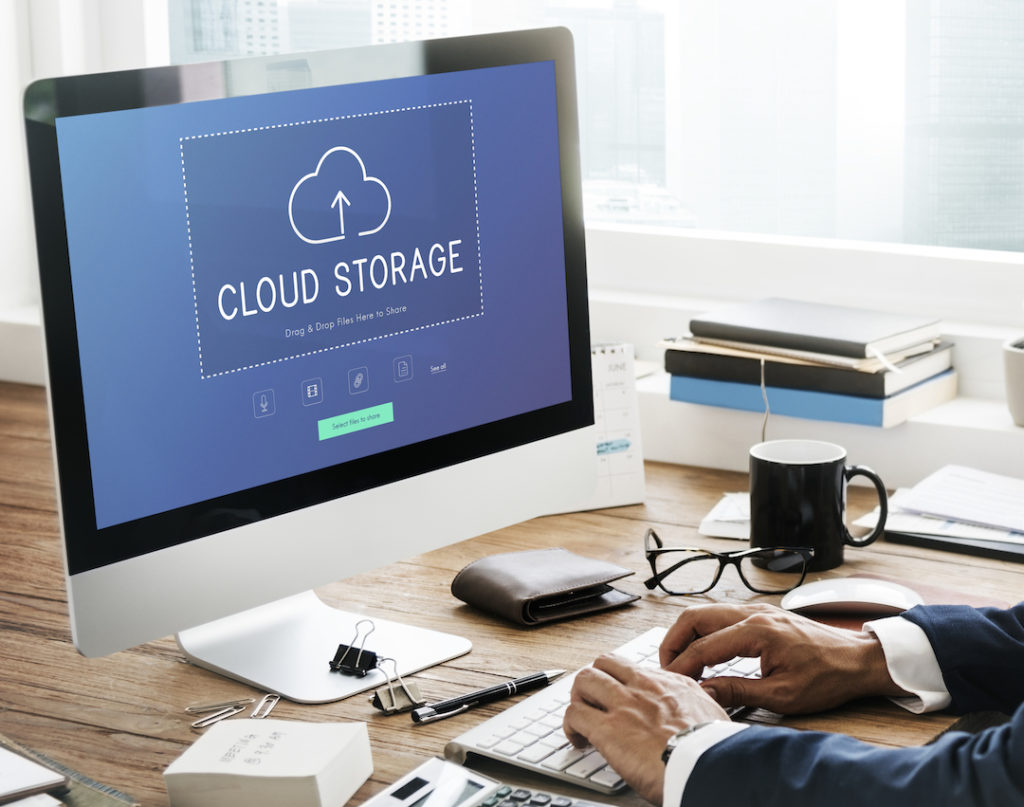 Cloud Storage Computer Image